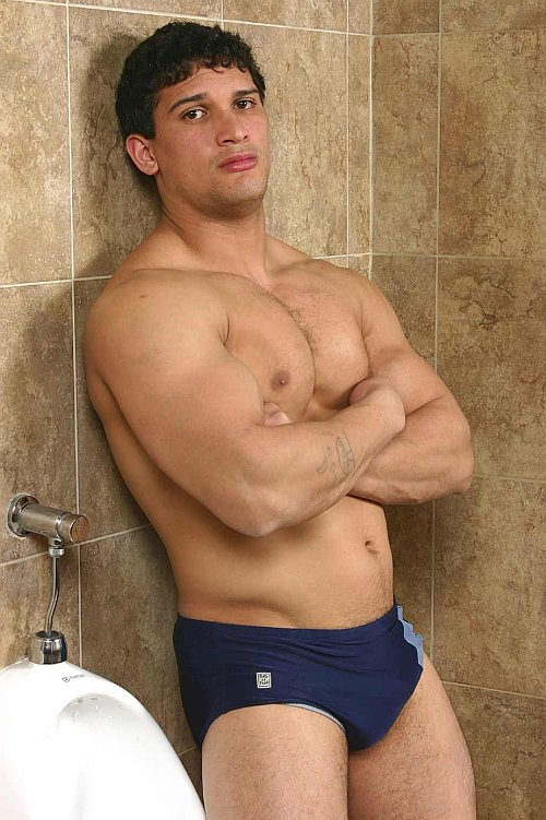 Gorgeous Beefy Latino Gregoire